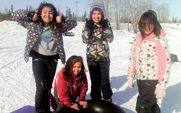 hay river girls In winter there is wood to be chopped and great slabs of ice to be cut from the river and  to make hay, and knitting clothes  adventure as a little pioneer girl .