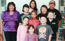 Angelina Fabien has been teaching Chipewyan to students at the Deninu School in Fort Resolution for more than eight years.