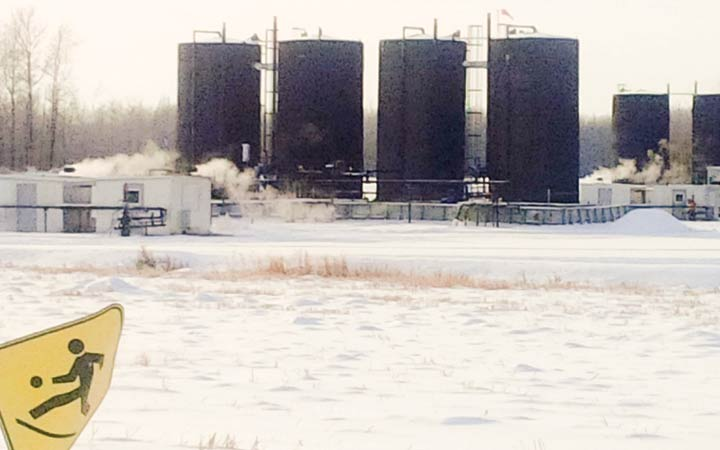 The Alberta Energy regulator is currently holding a public enquiry into more than 860 complaints about emissions and odours from Peace River area residents since 2010.