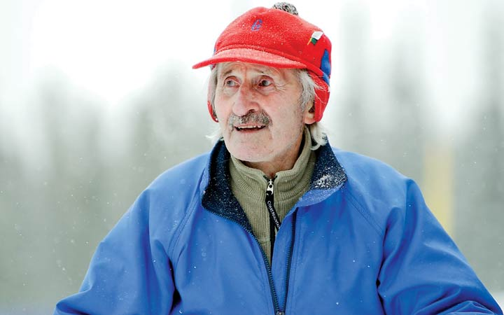 Father Mouchet's cross-country ski coaching inspired his students beyond the sport to encourage greatness in everyone, according to his biographer and friend, Ken Coates.