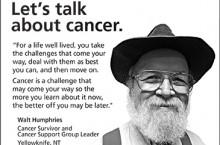 Cancer survivors advise NWT men on prevention