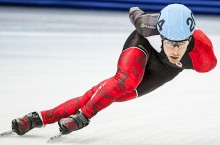 Yellowknife speedskater Michael Gilday is choosing to end his career as a professional athlete on a high note after attending the Sochi Olympics earlier this year. He is now focusing on attaining a bachelor's degree in commerce at the University of Calgary.