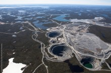 Over $170 million in securities have yet to be posted for Dominion's Ekati diamond mine.