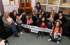 Moms and babies in Fort Smith joined together to celebrate World Breastfeeding Week earlier this month at the Tapwe House, home to the NWT Healthy Babies program. Apart from a few activities, the event was mainly a chance for new mothers and their infants to connect with one another and some of the post-natal care providers in town.