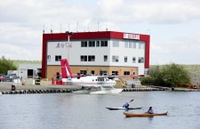 An Air Tindi flight made an emergency landing on frozen Great Slave Lake last week. No one aboard was injured.