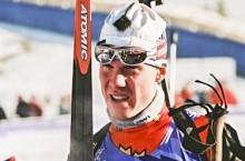 Three-time Olympic biathlete Robin Clegg.