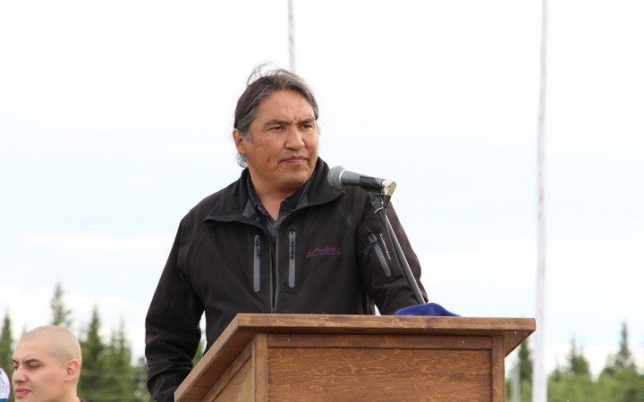 ACFN Chief Allan Adam has posted his salary and other band finances online, but refuses to share that information with the federal government.