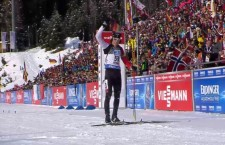 Brendan Green competes at the World Cup in Italy.