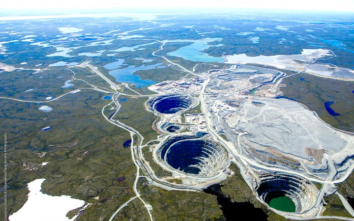 Public hearings on Dominion Diamond's proposal to expand the Ekati mine are scheduled to begin this summer. (Photo Credit: Dave Brosha)