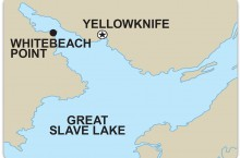 Husky Oil's proposal to do exploratory drilling for silica in the Whitebeach Point area on the North Arm of Great Slave Lake has been referred to the review board for environmental assessment.