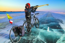 """Starting this week, """"Bass Ninja"""" Felipe Gomez is setting out on a bike ride across the North, from Tuktoyaktuk to Whitehorse, Yukon. Along the way, he is fundraising for United Way Saskatoon."""