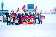 Around 30 municipal employees have been on strike in Hay River since Feb. 6.
