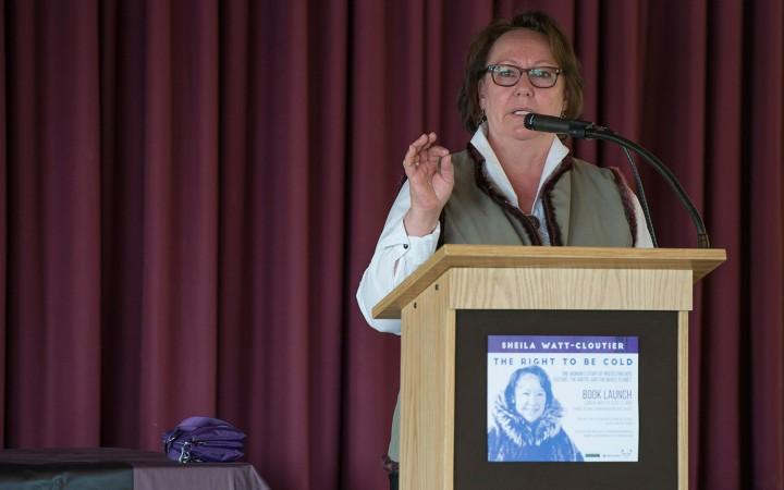 Nobel Prize nominee launches memoir in NWT