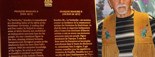 Plaque honouring Métis patriarch unveiled in Ft. Smith