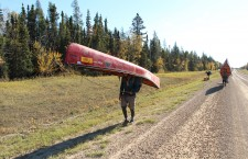 Paddlers follow the 'path of blue gold' from Oka to Inuvik