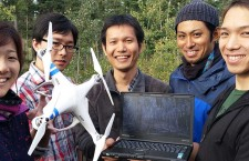 Japanese team uses drones, cameras and lasers  to see NWT forest for the trees