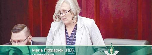 MLA's survivor story brings legislature to feet
