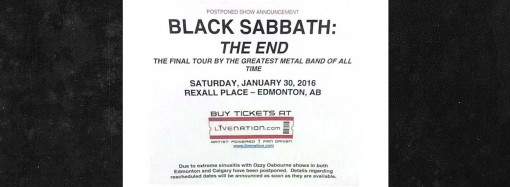 "Is this ""the end?"" YK rock writer stood up in Edmonton"