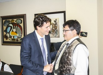 Trudeau attends 'historic' meeting with Inuit leaders